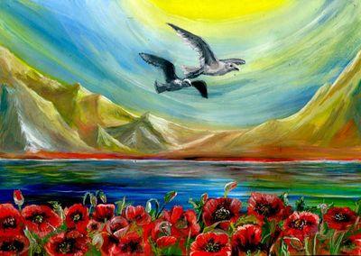 Сила и гармония интуитивной живописи