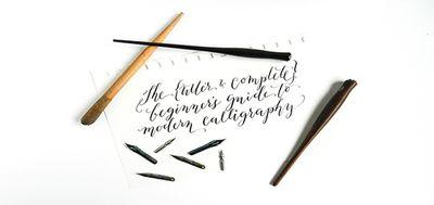 Кому и зачем нужен курс каллиграфии