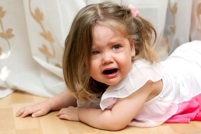 Детские капризы — это нормально?